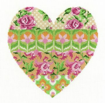DMC Flowered Forms -Floral Arrangement Cross Stitch Kit BK1672